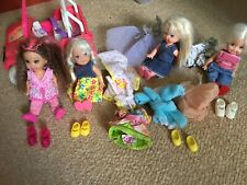 4 x Vintage Barbie Shelly and friends dolls & accessories.