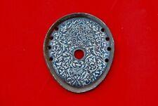 Old Vintage Indo Persian Ottoman Turkish Balkans Silver Inlaid Iron Horseshoe