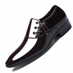 Zapatos De Vestir Para Hombre Moda De Lujo De Cuero Formal Para Hombre