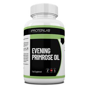 Evening Primrose Oil 1000mg - Free UK P&P - High GLA, Hormone Balance, Joint Aid