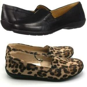 Soul Naturalizer Women's Kacy Slip On Loafers Flats Shoe Black or Cheetah- NEW