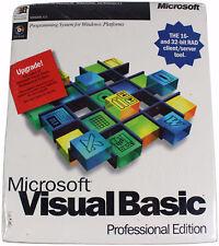 MICROSOFT VISUAL BASIC Professional Edition UPGRADE v 4.0 SEALED NEW Big Box MS