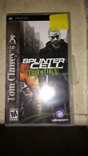 Tom Clancy's Splinter Cell: Essentials (Sony PSP, 2006) Complete