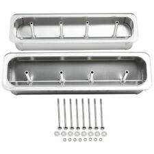 Fabricated Aluminum Valve Covers Center Bolt For Chevy 305 50l 350 57l Sbc
