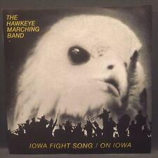 Hawkeye Marching Band - Iowa Fight Song / On Iowa  on 45rpm!! Go HAWKS!