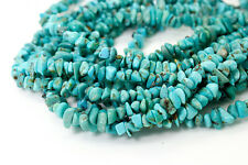 Genuine Natural Turquoise Beads Smooth Rough Nugget Chips Loose Gemstone PGS241