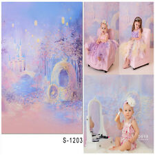 3x5ft Vinyl Photography Backdrop Castle Forest Baby Photo Background Studio Prop