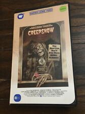 Creepshow Beta Video Warner Clamshell Betamax George Romero Horror Stephen King