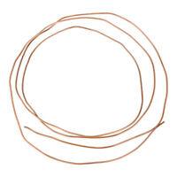 Kupferrohr Ring weich Außendurchmesser 2, 3, 4, 5, 6 mm - 2 Meter Länge