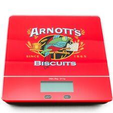 Digital Kitchen Scale 5kg Tempered Glass Platform Arnnots Logo Printed