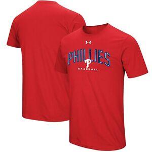 Philadelphia Phillies Mens Under Armour Arch Heatgear T-Shirt - XL - NWT