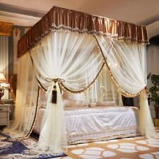 Mosquito net Luxury wedding bed canopy dust proof mosquito net room decoration