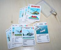 VINTAGE 1970'S  TOP TRUMPS HELICOPTERS GAME  BY ACE