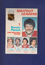 Bernie Parent SO Leaders HOF 1978-79 O-PEE-CHEE OPC Hockey #70 (EXMT+) Flyers