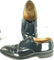 Church's Clyde Oxford Mens Size 11.5 Black Lace Up Plain Toe Dress Shoes England