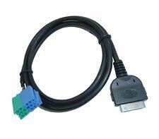 Becker AUX Adapter Kabel Stecker mit 5V Ladefunktion für Apple iPhone