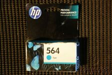 New Sealed GenuineOEM HP 564 CB318WN InkJet Cyan Cartridge 564