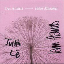 Del Amitri Autograph - Fatal Mistakes - CD Signed - New - AFTAL