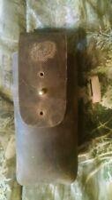 Handmade Leather Turkey Call Short Box Holster