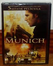 MUNICH DVD NUEVO PRECINTADO THRILLER HISTORICO STEVEN SPIELBERG (SIN ABRIR) R2