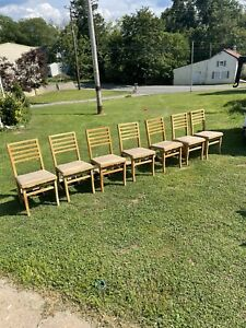 Vintage Solid Kumfort Louis Rastetter & Sons Wood Folding Chair(price per Chair)