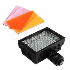 Pro HD-160 LED Video Light Camera Lamp For Canon Nikon Pentax DSLR DV Camcorder