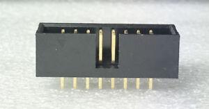 5 Pcs - Male Box IDC Header - 16 Pin (2X8) Pin - Dual Row - Vertical PCB Mount