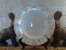 "Royal Crown Derby Vine Gold 12"" round platter / chop plate grapes Green Stamp"