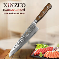 XINZUO 8 inch chef knife Damascus steel kitchen knife slicing knife kitchen tool