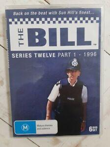 The Bill DVD Series Twelve Part 1 1996 Series 12 0 PAL All Regions rated M
