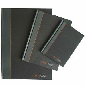 Collins Ideal A4 A5 A6 Size Single Cash or Double Cash Manuscript Record Book