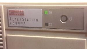 DIGITAL DEC ALPHASTATION 200 4/233 MHZ 128MB HDD 1GB ethernet sound - PB40H-BA