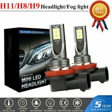 2x H11 LED Headlight Kits 110W 20000LM FOG Light Bulb 6000K Driving DRL Lamp New