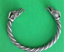 Draig Celtic Dragon Pewter Bracelet! New Scottish Irish Welsh Viking