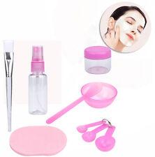 Makeup Beauty DIY Facial Face Mask Bowl Brush Spoon Stick Tool