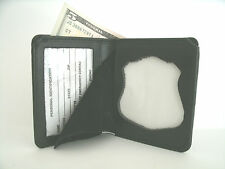 Metropolitan DC Police Badge & ID Wallet CT-06 Recessed Badge Cut Out Leather