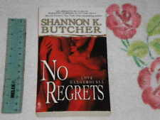 No Regrets by Shannon K. Butcher     *Signed* -pb-