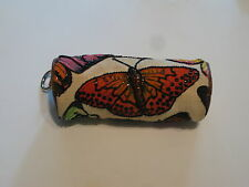 BEAUTIFUL ISABELLA FIORE BEADED BUTTERFLY WRISTLET CLUTCH BAG