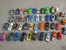 Mixed Lot of 45 diecast cars trucks and tractor (1) Hot Wheels Matchbox + other