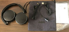 Akg Y50BT Plegable Bluetooth Inalámbrico On-Ear Auriculares Negros-restaurada Grado B