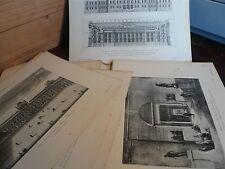 EL Palacio del LOUVRE, Enrique VERNE, + de 40 belles planches anciennes