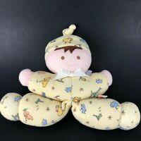 Vtg John Lennon Doll Carters Prestige Plush Lovey Lovie Stuffed Baby Toy Rattle