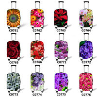 Floral Luggage Covers Women Ladies Travel Suitcase Trolley Protective Cover Case