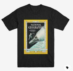 National Geographic Vintage Moon Full Color T-shirt ONLYN 2XL XXL NEW ORIGINAL!!