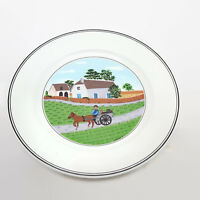 Villeroy & Boch Design Naif Going To Market Salad Plate 8.25""