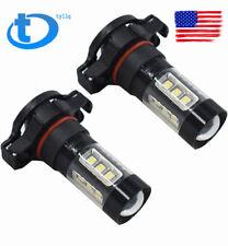 LED Fog Lights For 2007-2015 Chevrolet Silverado 1500 2500 3500 80W 6000K 5202