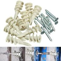 NEW Heavy Duty Plasterboard Cavity Wall Fixings Plugs Speed Anchors With A Screw