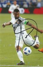LA GALAXY: ASHLEY COLE SIGNED 6x4 ACTION PHOTO+COA *MLS*