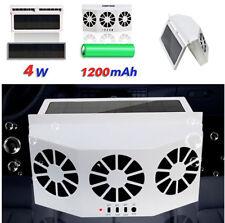 Solar Powered Auto Car Window Ventilator Cooler Air Vent Cool Fan Radiator