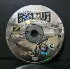 Sega Rally Championship (Sega Dreamcast, 1999) Disc Only